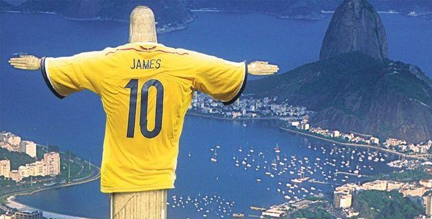 #BRASIL, AQUÍ ESTAMOS #YoCreo en #Colombia #FuerzaColombia #VamosColombia   #Brasil #MundialBrasil2014 #Brasil2014