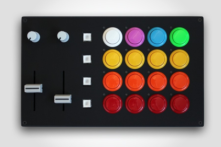 Colorful controller