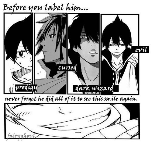 Just seeing this makes me sad.... And I can't believe Zeref is an emperor of that island that Gramps is at....