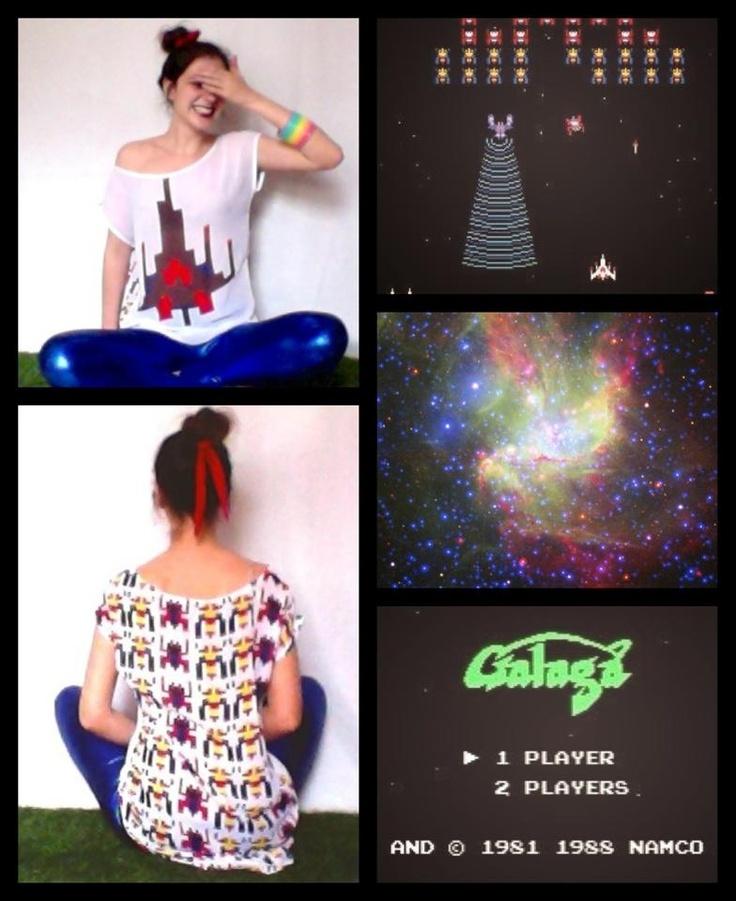 Galaga en la moda