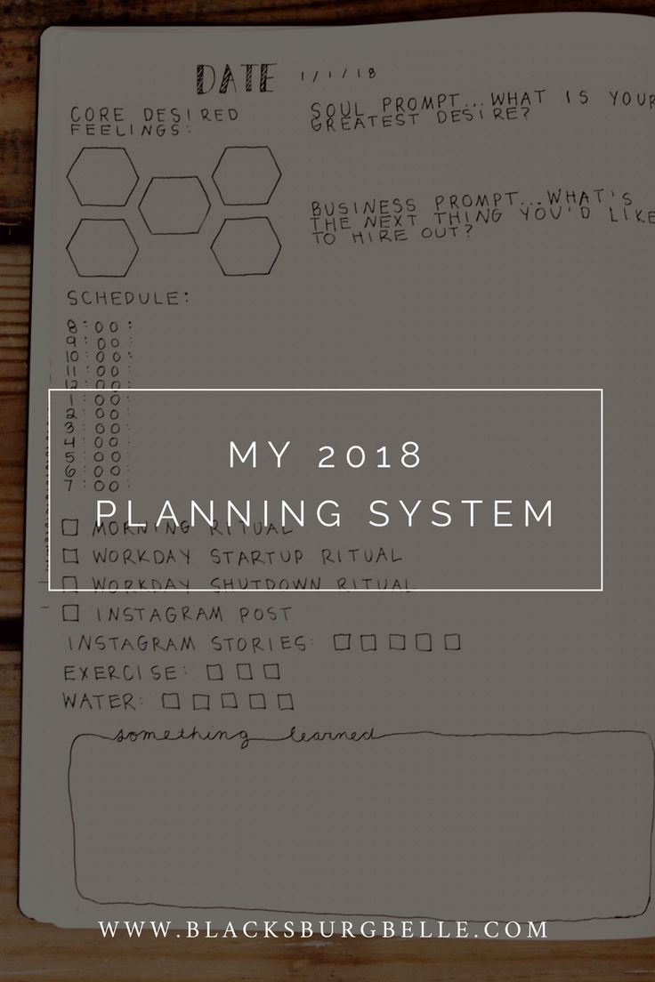 "Two weeks ago I published an in-depth blog post about the top 14 planners for entrepreneurs. The most common question I got from that blog post was, ""What planner are you going to use for 2018? Why did you leave us hanging?!?!?!"" I didn't reveal which planner I picked from the bunch, because I hadn't figured out which one I wanted to use when I published that blog post. I adore the concept of the Desire Map Planner and was suuuuuuuuuuper close to choosing that as my main planner for the…"
