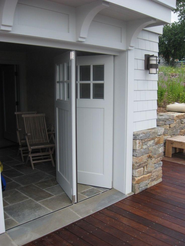 Would like manual opening bifold garage doors