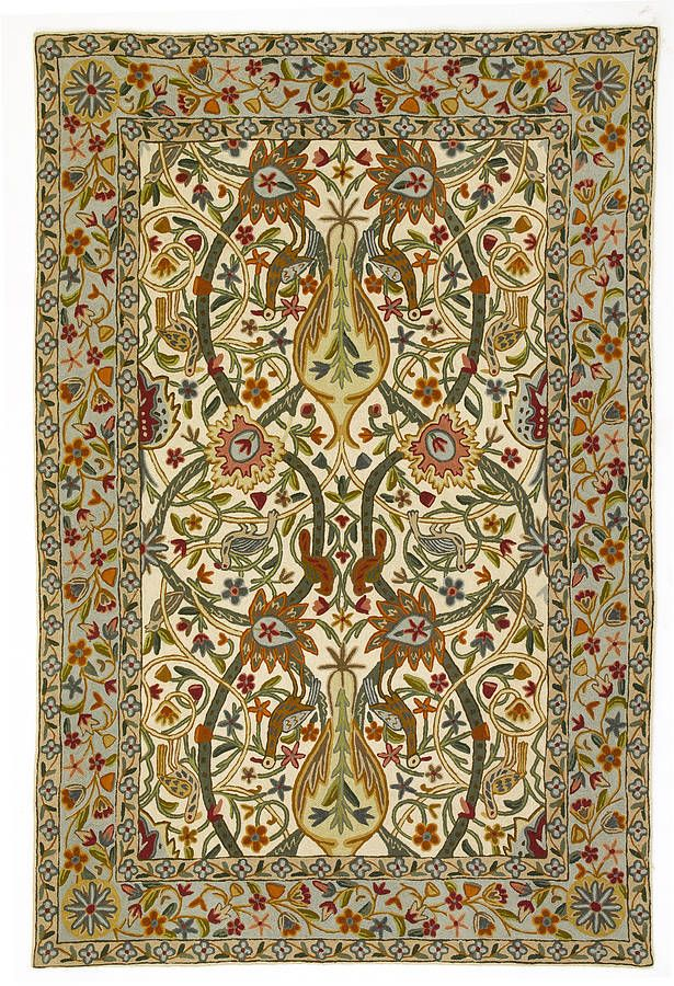 1000 images about rugs arts and crafts movement style on for Arts and crafts style rug