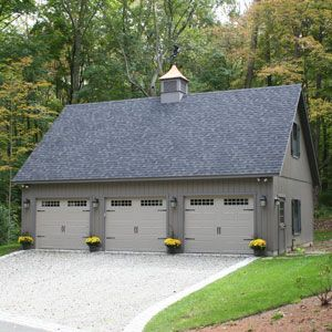 Best 25 pole barn garage ideas on pinterest pole barns for Cost to build 1 car garage