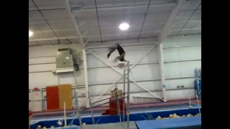 Ruby Harrold told us she tried to master a Weiler to Comaneci. Here's Aja Sims version 🙌🏽