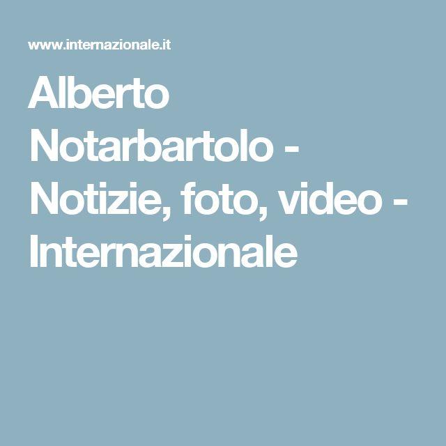Alberto Notarbartolo - Notizie, foto, video - Internazionale