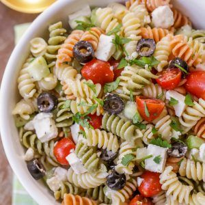 Greek Pasta Salad recipe | Lil' Luna