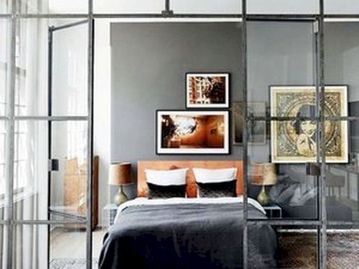 Bon 37 Modern Studio Apartment Ideas With Glass Walled Bedrooms