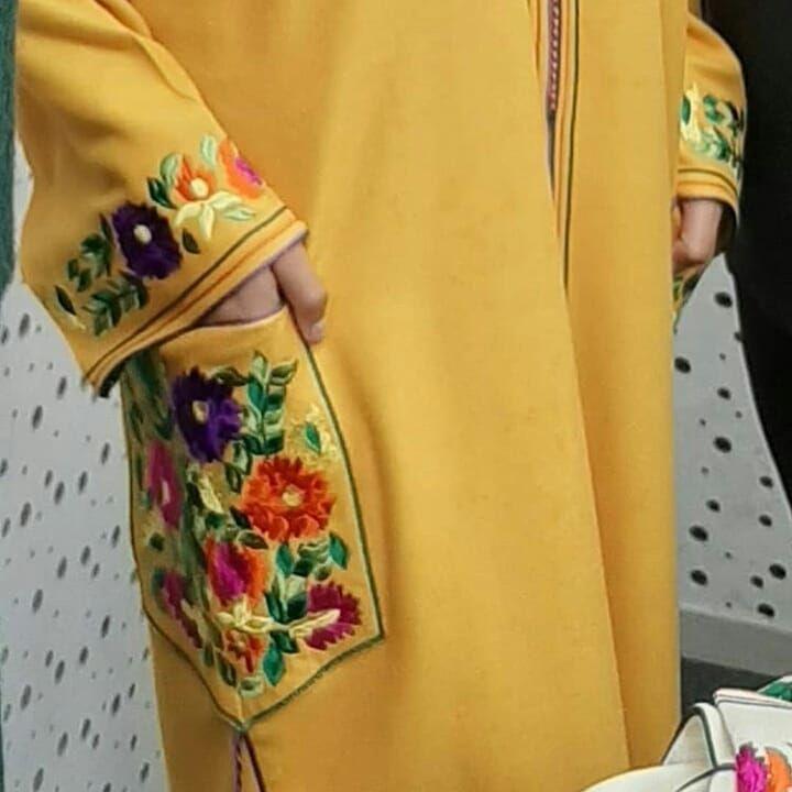 Photo Instagram De رقي الزي المغربي التقليدي 6 Janvier 2020 16 56 Abayas Fashion Embroidery Suits Design Muslimah Fashion
