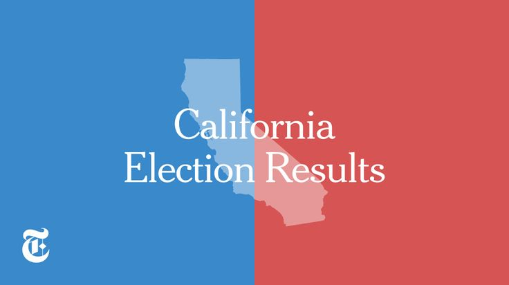 California election results from the 2016 general election.