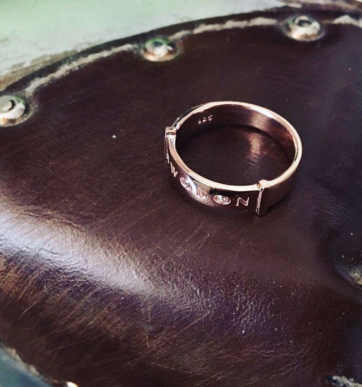 Rosé Elegance Ring 🌺