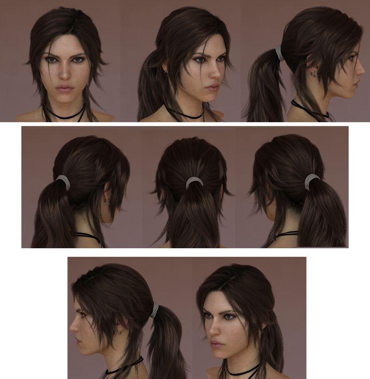 her hair is pretty! I love Lara