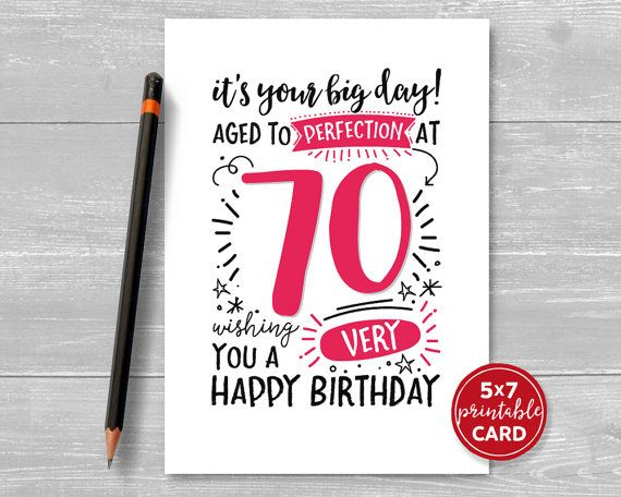 1000+ Ideas About 70th Birthday Card On Pinterest