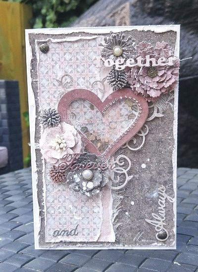 Together Forever and Always Card by Amy Voorthuis