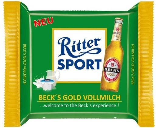 Beck's Gold - Vollmilch