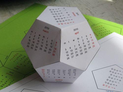 Handmade Calendar With Photos : Printable calendars last minute gifts and calendar on