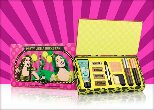 Benefit Cosmetics - party like a rockstar! #benefituk