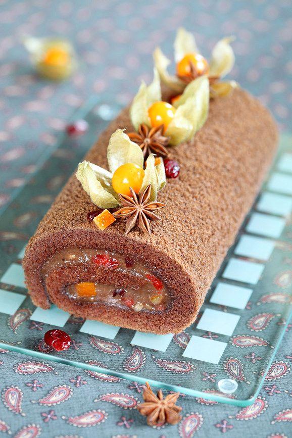 https://flic.kr/p/TTUs9W | Chocolate Swiss Roll | Recipe: verdadedesabor.blogspot.ru/2013/11/torta-de-cacau-e-espec...