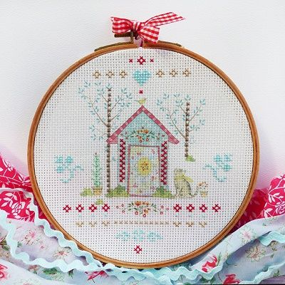 "DMC Embroidery Kit ""Home"" by Tamar Nahir-Yanai 