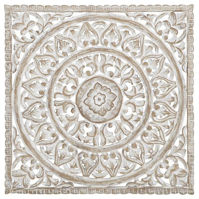 White Carved Wall Decor For the Home Pinterest