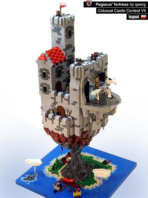 LEGO Pegasus' fortress