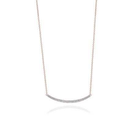 Skinny Curve Necklace
