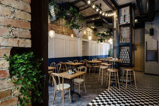 Pasta Miasta Interior Design. Italian restaurant.