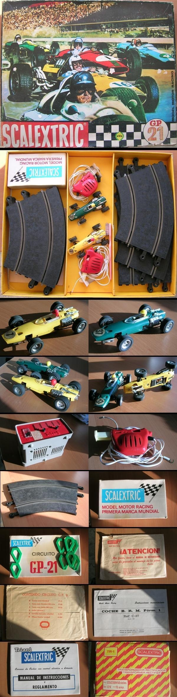 Juguetes - Scalextric GP 21
