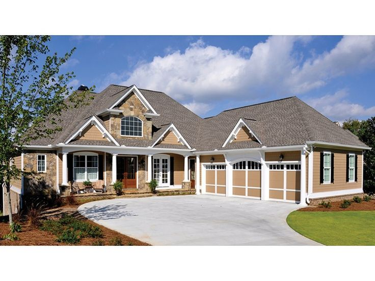 36 best sloping lot house plans images on pinterest lake for Lake house plans for sloping lots