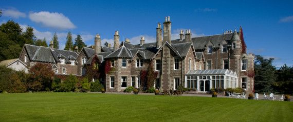 Andy Murray's Cromlix Hotel Named Best In Scotland
