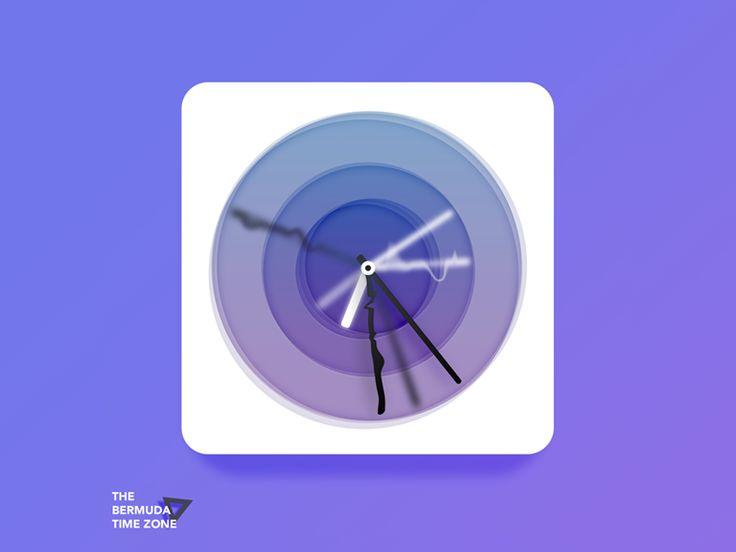 Bermuda Triangle Time Zone for fun by Petr Milkov △