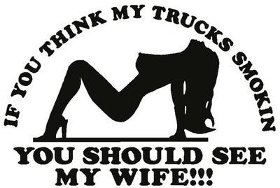 Diesel Truck Logo Wife Vinyl Decal Sticker Cummins Powerstroke Duramax | eBay