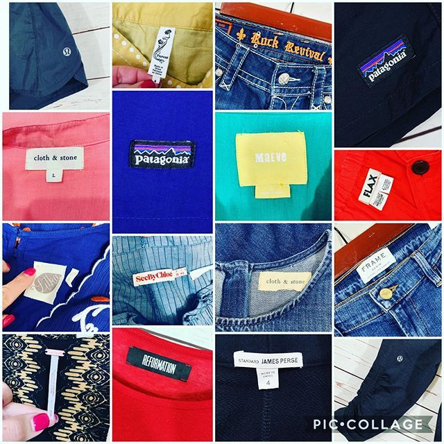 Thrifting And Reselling 4 Lesser Known Brands To Be On The Lookout For Thrift Store Fashion Thrifting Clothing Tags