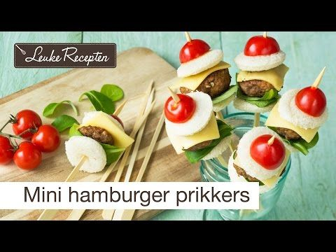 Video: mini hamburger prikkers
