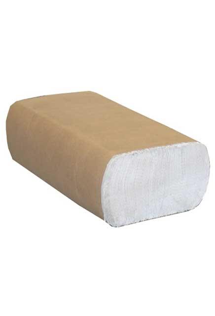 Decor, Essuie-mains en plis multiples Blanc
