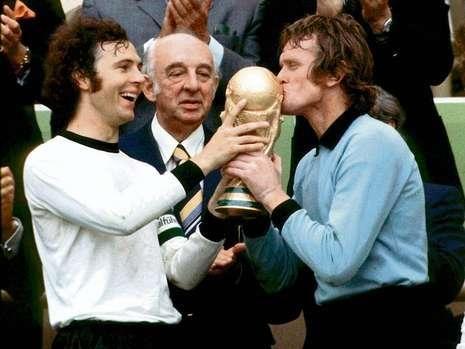 Beckenbauer & Sepp Maier
