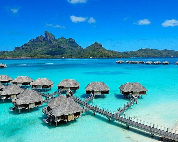 hoping to celebrate our 2nd wedding anniversary in Bora Bora. #beach #borabora