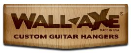 Wall-Axe Custom Guitar Hangers. Hook, hold, mount to display multiple guitars with style. Perfect for home and studio use. Unique Guitar Gift. Made In U.S.A.