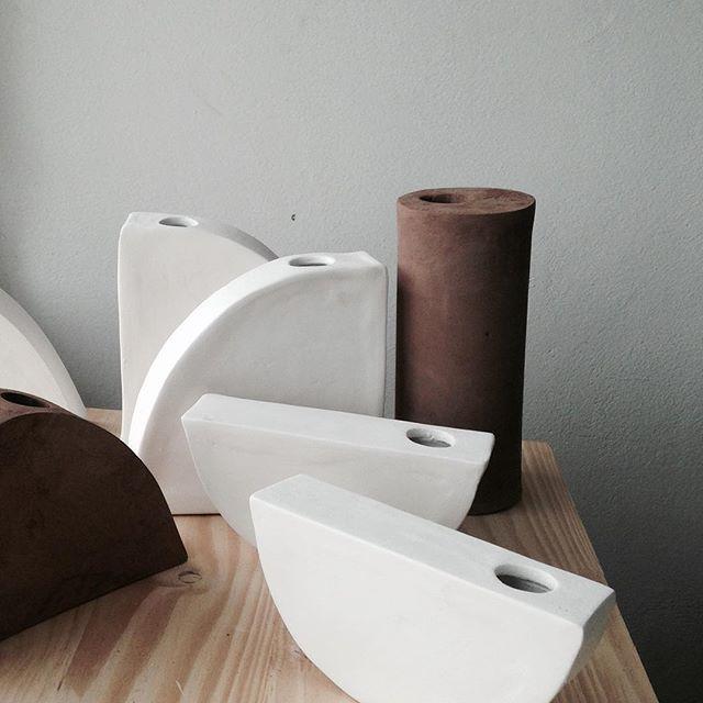 Studio still life on a Saturday morning. Klomp Ceramics