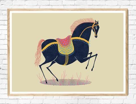 Year of the horse - lidt kunst til væggen