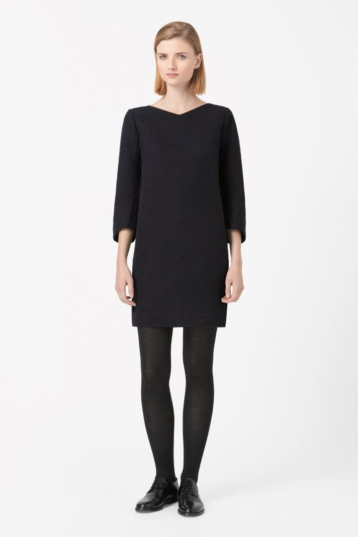 COS | Curved sleeve dress