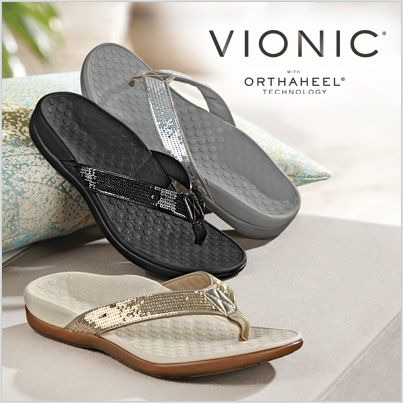Add sparkle to your walk with Vionic Tide Sequins.