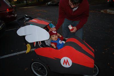 mario kart stroller halloween - Google Search