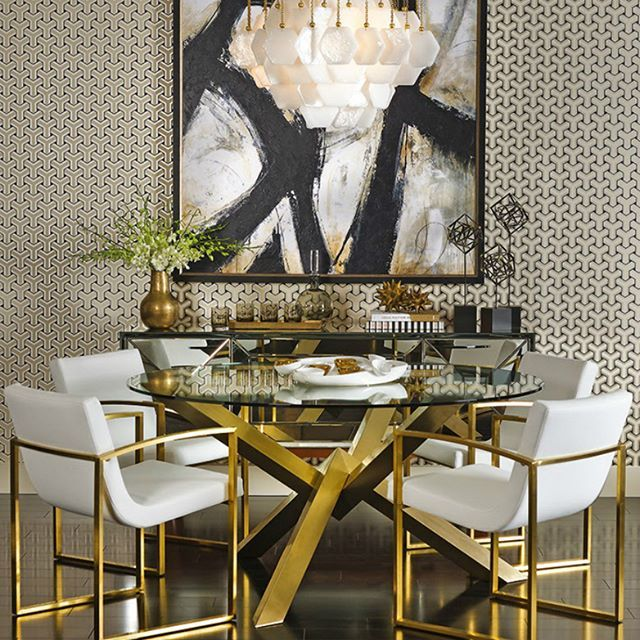 Fancy dining room design this year || Feel the wilderness straight from your property and keep up with the latest interior design trends || #interiordesign #luxuryfurniture #luxuryroom || Visit to see more: http://homeinspirationideas.net/category/room-inspiration-ideas/dining-room/