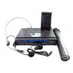 Microfonos inalambricos VHF WG006