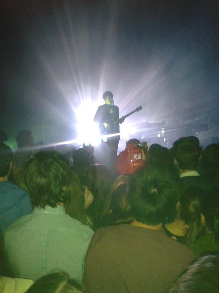 Attended the XX concert at the Metro Theatre on 20 July 2012 in Sydney. It was an amazing performance!