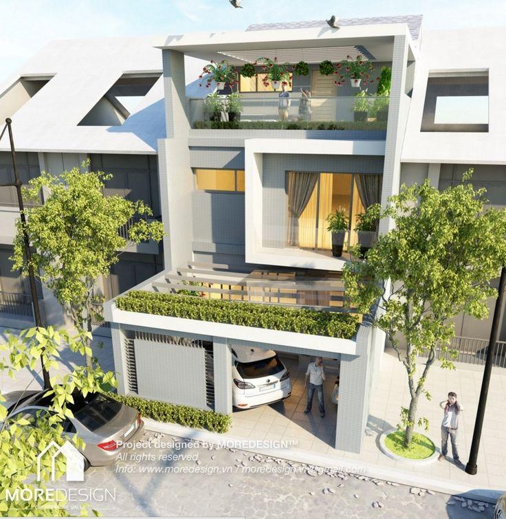 Công trình: Thiết kế nhà phố hiện đại diện tích 8x12m Thiết kế nhà phố hiện đại và biệt thự hiện đại đang là xu hướng kiến trúc tại các khu đô thi mới. MOREDESIGN mong muốn mang đến cho quý khách hàng những mẫu nhà phố hiện đại với các phong cách thiết kế, đường nét …
