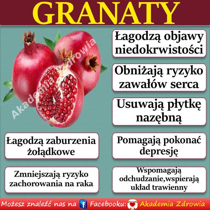 Korzyści zdrowotne granatów - Zdrowe poradniki