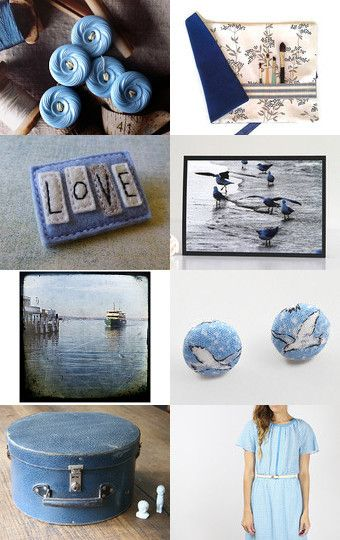 Winter Blues. by Leanne Manns on Etsy--Pinned with TreasuryPin.com