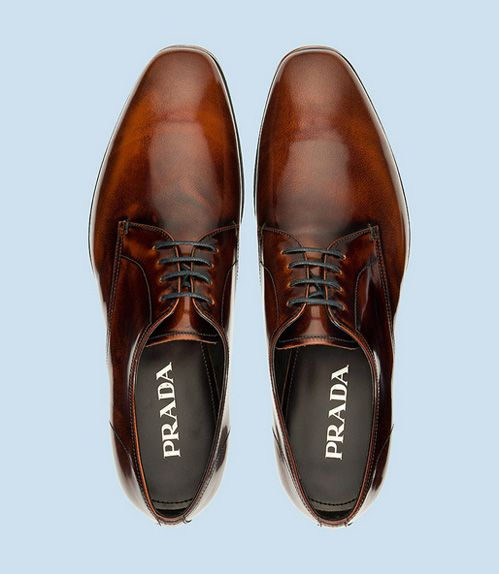#Prada men's dress #shoes #menswear. Ain't nothing like a good smelling well groomed pretty white teeth man BUT if his shoes ain't in check that totally throws off everything.